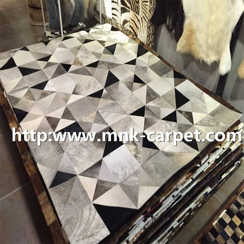 Fashion Patchwork High Quality Cowhide Rugs For Flooring Covers